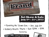 BRAND Stampede Show and Sale July 6- 22, 2012