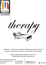 Join Us for Therapy : Artpoint Galleries November 1-30, 2013